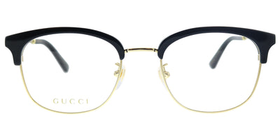 Gucci GG 0590OK 001 Square Plastic Black Eyeglasses with Demo Lens