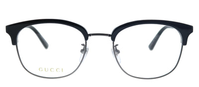 Gucci GG 0590OK 002 Square Plastic Black Eyeglasses with Demo Lens