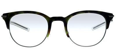 Dior Homme CD 0202 VHO Square Plastic Green Eyeglasses with Demo Lens