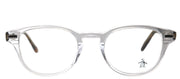 Original Penguin PE Murphy CR Round Plastic Clear Eyeglasses with Demo Lens