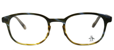 Original Penguin PE Stewart LT Rectangle Plastic Tortoise/ Havana Eyeglasses with Demo Lens