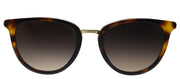 Lilly Pulitzer LP Fortuna TO Round Plastic Tortoise/ Havana Sunglasses with Brown Gradient Lens