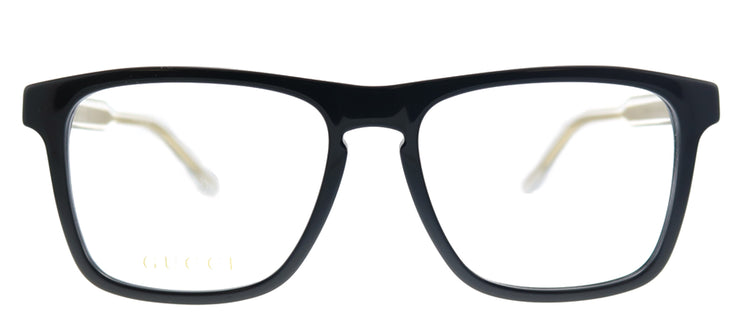 Gucci GG 0561O 001 Square Plastic Black Eyeglasses with Demo Lens