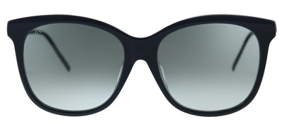 Gucci GG 0655SA 001 Square Plastic Black Sunglasses with Grey Gradient Lens
