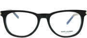 Saint Laurent SL 225 001 Square Plastic Black Eyeglasses with Demo Lens