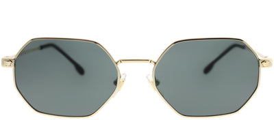Versace VE 2194 125287 Rectangle Metal Gold Sunglasses with Grey Lens