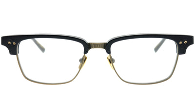 Dita DT DRX-2064-E-NVY-GLD-52 Rectangle Plastic Blue Eyeglasses with Demo Lens