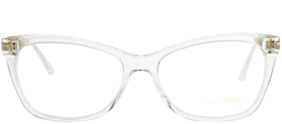 Tom Ford FT 5353 026 Rectangle Plastic Clear Eyeglasses with Demo Lens