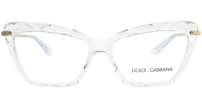 Dolce & Gabbana DG 5025 3133 Cat-Eye Plastic Clear Eyeglasses with Demo Lens