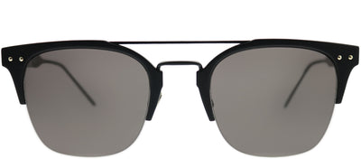Bottega Veneta BV 0146S 001 Rectangle Plastic Black Sunglasses with Grey Lens