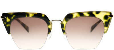 Rag & Bone RNB 1007/S 2IK HA Cat-Eye Metal Tortoise/ Havana Sunglasses with Brown Gradient Lens