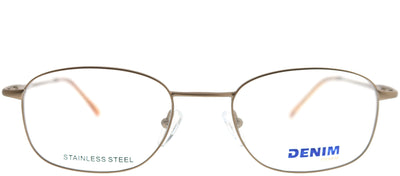 Denim Eyewear Denim 101 K2L Rectangle Metal Bronze Eyeglasses with Demo Lens