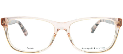 Kate Spade KS Calley HT8 Rectangle Plastic Pink Eyeglasses with Demo Lens