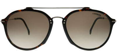 Carrera CA Carrera171 086 HA Aviator Plastic Tortoise/ Havana Sunglasses with Brown Gradient Lens