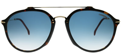 Carrera CA Carrera171 O63 08 Aviator Plastic Tortoise/ Havana Sunglasses with Blue Gradient Lens