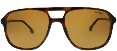 Carrera CA Carrera173 086 K1 Aviator Plastic Tortoise/ Havana Sunglasses with Gold Mirror Lens