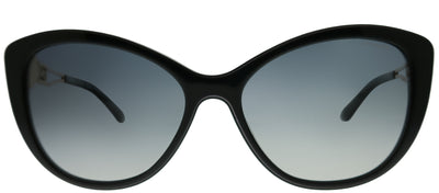 Versace VE 4295 GB1/T3 Cat-Eye Plastic Black Sunglasses with Grey Gradient, Polarized Lens