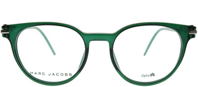 Marc Jacobs Marc 51 TOI Round Plastic Green Eyeglasses with Demo Lens