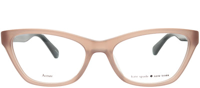 Kate Spade KS Alaysha FWM Cat-Eye Plastic Beige Eyeglasses with Demo Lens