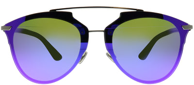 Dior CD ReflectedP 6LB TE Aviator Metal Ruthenium/ Gunmetal Sunglasses with Violet Prisim Mirror Lens