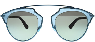Dior CD SoReal RMJ LH Fashion Metal Blue Sunglasses with Blue Mirror Lens