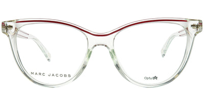 Marc Jacobs Marc 323/G 900 Cat-Eye Plastic Clear Eyeglasses with Demo Lens