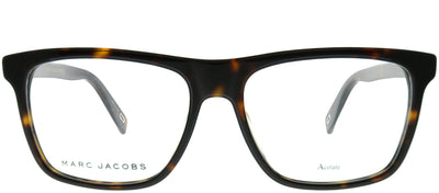 Marc Jacobs Marc 342 086 Rectangle Plastic Tortoise/ Havana Eyeglasses with Demo Lens