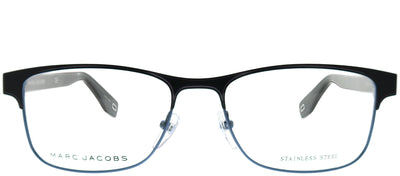 Marc Jacobs Marc 343 PJP Rectangle Metal Blue Eyeglasses with Demo Lens