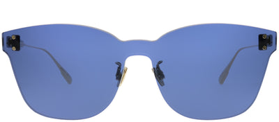 Dior CD ColorQuake2 PJP KU Rectangle Plastic Blue Sunglasses with Blue Lens