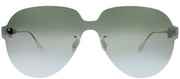 Dior CD ColorQuake3 YB7 T4 Aviator Plastic Silver Sunglasses with Silver Mirror Lens
