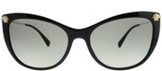 Versace VE 4345B GB1/11 Cat-Eye Plastic Black Sunglasses with Grey Gradient Lens