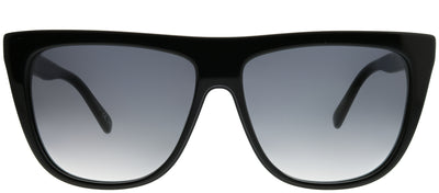 Stella McCartney SC 0149S 001 Cat-Eye Plastic Black Sunglasses with Grey Gradient Lens