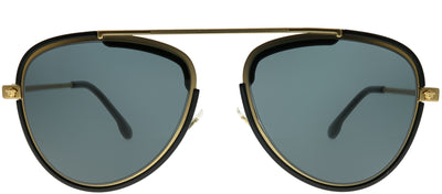 Versace VE 2193 142887 Aviator Metal Gold Sunglasses with Grey Lens