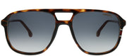 Carrera CA Carrera173 O63 9O Aviator Plastic Tortoise/ Havana Sunglasses with Dark Grey Gradient Lens