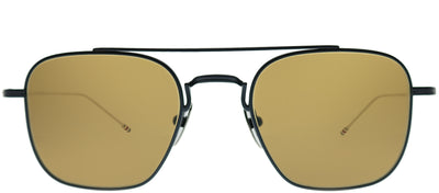 Thom Browne TB TBS907-50-03 Square Metal Blue Sunglasses with Dark Brown AR Lens