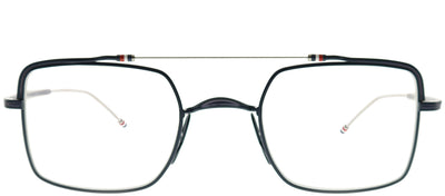 Thom Browne TB TBX909-44-03 Square Metal Blue Eyeglasses with Demo Lens