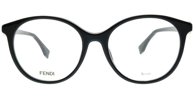 Fendi FF 0336/F PJP Round Plastic Blue Eyeglasses with Demo Lens