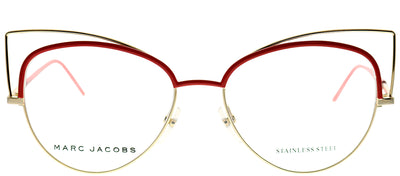 Marc Jacobs Marc 12 U0Y Cat-Eye Metal Gold Eyeglasses with Demo Lens