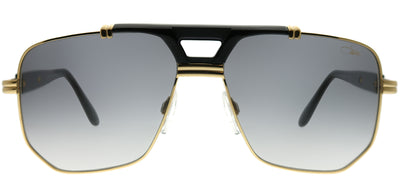 Cazal Cazal 990 001SG Aviator Metal Gold Sunglasses with Grey Gradient Lens