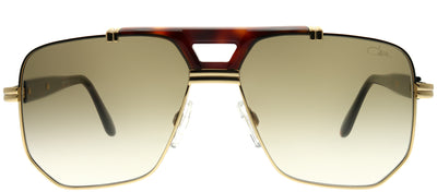 Cazal Cazal 990 003SG Aviator Metal Gold Sunglasses with Brown Gradient Lens