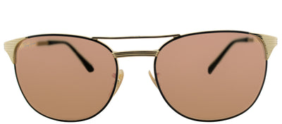 Ray-Ban RB 3429M 9000Z2 Square Metal Gold Sunglasses with Copper Flash Lens