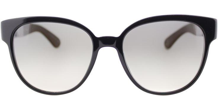 Paul Smith PM 8214S 100511 Round Plastic Black Sunglasses with Grey Gradient Lens
