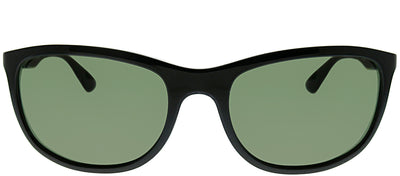 Ray-Ban RB 4267 601/9A Sport Plastic Black Sunglasses with Green Polarized Lens