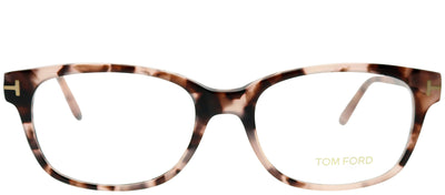 Tom Ford FT 5406 56 Rectangle Plastic Tortoise/ Havana Eyeglasses with Demo Lens