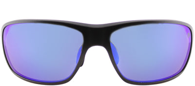 TAG Heuer TAG 6023 104 Sport Plastic Grey Sunglasses with Blue Polarized Lens