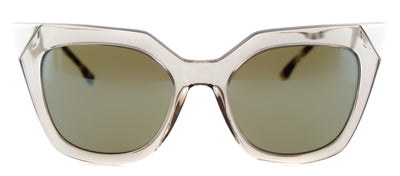 Fendi FF 0060 MSQ Fashion Plastic Grey Sunglasses with Blue Mirror Lens