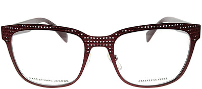 Marc by Marc Jacobs MMJ 613 KUA Square Metal Brown Eyeglasses with Demo Lens