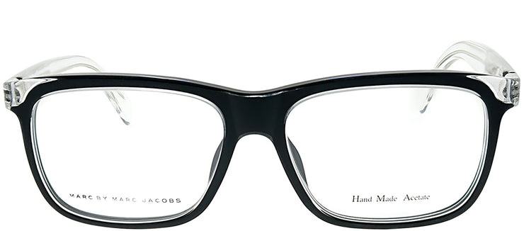 Marc by Marc Jacobs MMJ 614 MHL Rectangle Plastic Clear Eyeglasses with Demo Lens