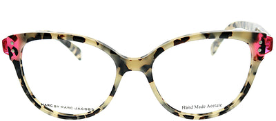 Marc by Marc Jacobs MMJ 632 A9B Square Plastic Tortoise/ Havana Eyeglasses with Demo Lens