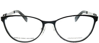 Marc by Marc Jacobs MMJ 662 H5O Cat-Eye Metal Black Eyeglasses with Demo Lens